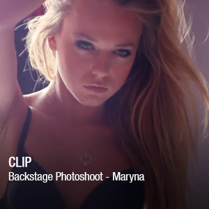 Backstage Photoshoot – Maryna