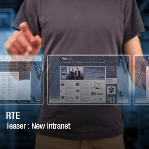 Teaser : New intranet RTE